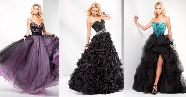Актуальные фасоны выпускных платьев