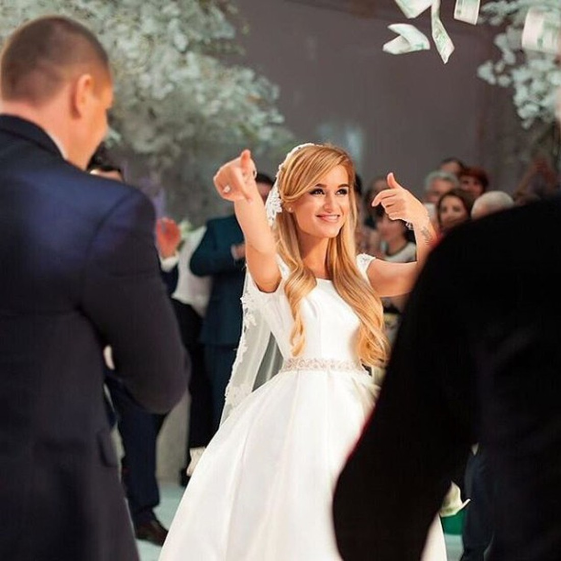 Свадьба ксения бородина курбан омаров фото
