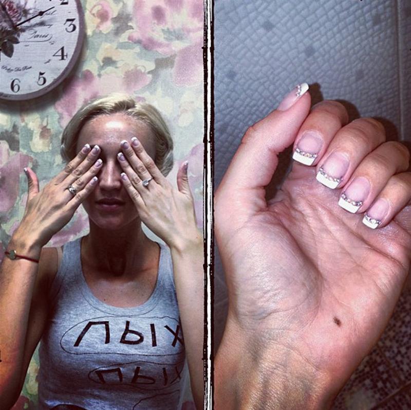 фото ногти бузовой