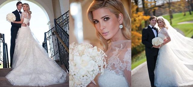 Иванка трамп свадебное платье