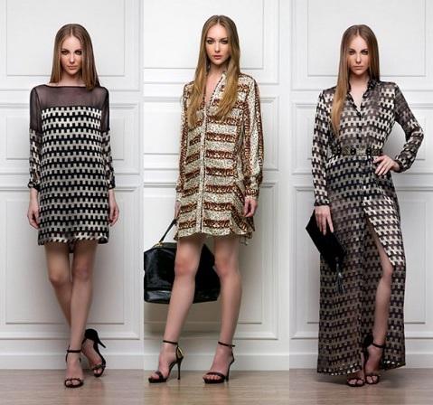 Модели платьев на 2014