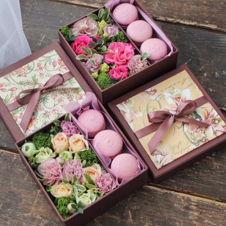 подарок с чаем на 8 марта