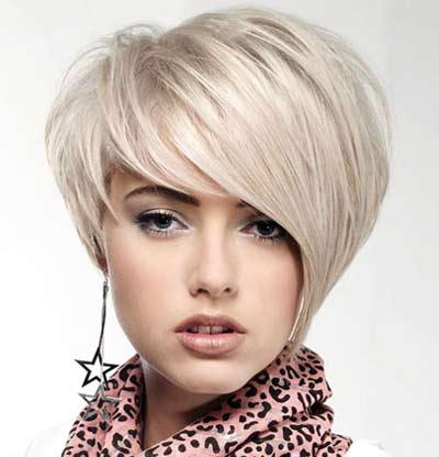 Модные объемные стрижки для коротких волос